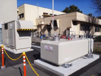 2013年2月設置 鹿児島県鹿児島市 非常用発電用