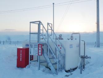 2013年11月設置 北海道名寄市 非常用発電用