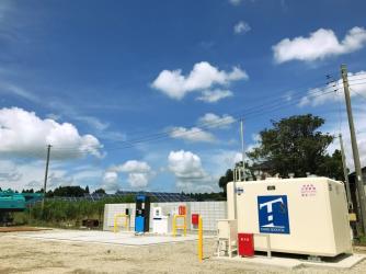 2017年6月設置 千葉県成田市 自家用給油取扱所用